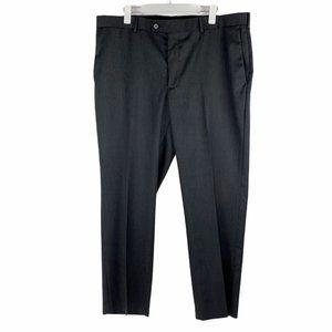 Perry Ellis Portfolio Luxe No Iron Charcoal Pants